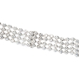 25.36ct Diamond 18k White Gold Necklace