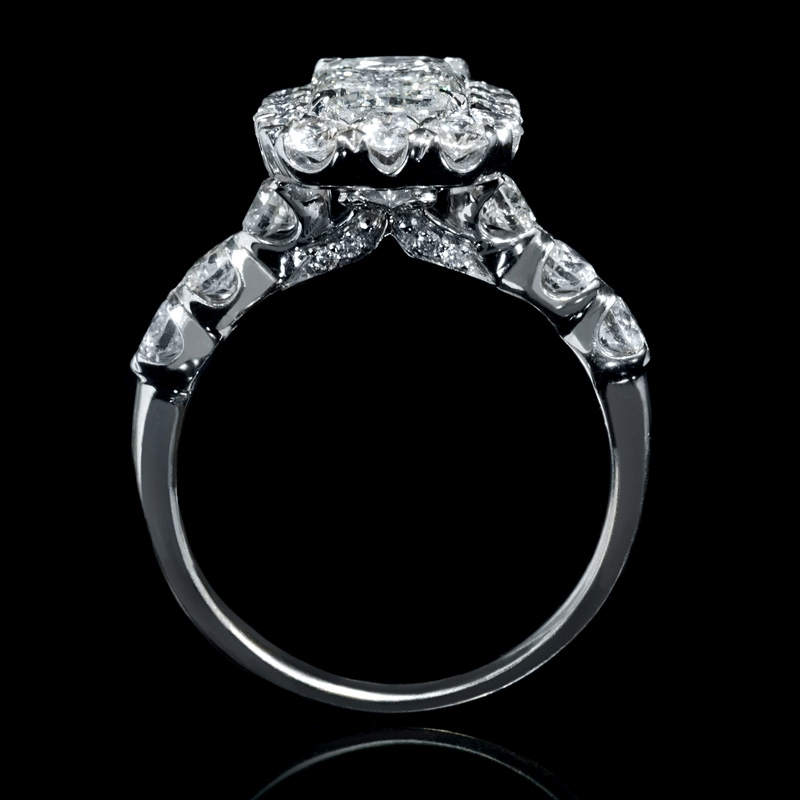 3 91ct christopher designs 18k white gold