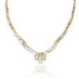 10.66ct Diamond 18k Yellow Gold Necklace
