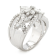 1.84ct Diamond 18k White Gold Ring