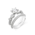 .41ct Simon G Diamond Antique Style Platinum Engagement Ring Setting