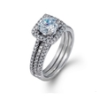 .37ct Simon G Diamond 18k White Gold Halo Engagement Ring Setting