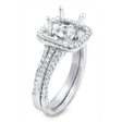 .13ct Simon G Diamond 18k White Gold Wedding Band Ring
