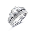 .33ct Simon G Diamond Platinum Wedding Band Ring