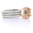 .76ct Simon G Diamond Platinum Wedding Band Ring