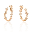 3.56ct Diamond 18k Rose Gold Earrings