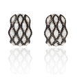 3.07ct Diamond 18k White Gold Earrings