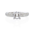 .36ct Diamond Platinum Engagement Ring Setting