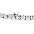 9.45ct Diamond 18k White Gold Tennis Bracelet