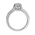 .23ct Ritani Anadare Collection Diamond 18k White Gold Engagement Ring Setting