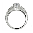 .20ct Ritani Anadare Collection Diamond 18k White Gold Engagement Ring Setting