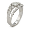 .27ct Diamond 18k White Gold Ring