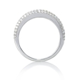 .50ct Diamond 18k White Gold Wedding Band Ring