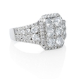 1.76ct Diamond 18k White Gold Ring
