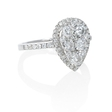 1.44ct Diamond 18k White Gold Ring