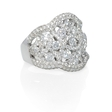 2.55ct Diamond 18k White Gold Ring