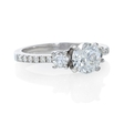 .38ct Diamond 18k White Gold Engagement Ring Setting