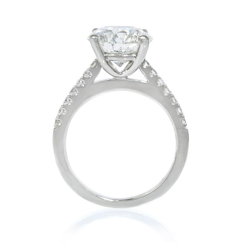 20ct Diamond Platinum Engagement Ring Setting