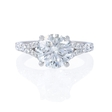 .46ct Diamond Platinum Engagement Ring Setting