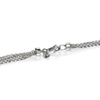 .65ct Diamonds By The Yard 18k White Gold Necklace