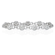 4.06ct Diamond 18k White Gold Bracelet