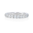 1.45ct Diamond Round Brilliant Cut Platinum Eternity Wedding Band Ring