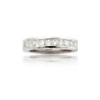 2.71ct Diamond 14k White Gold Eternity Wedding Band Ring