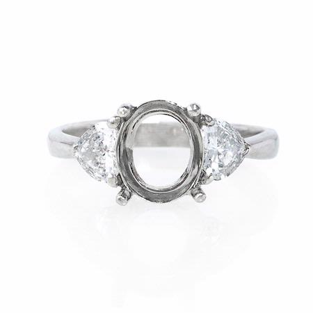 .54ct Diamond Platinum Engagement Ring Setting