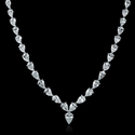 Diamond & Platinum Necklace