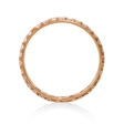 .95ct Diamond 18k Rose Gold Eternity Wedding Band Ring