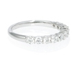 1.54ct Diamond Platinum Wedding Band Ring