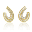 5.73ct Diamond 18k Yellow Gold Earrings