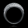 2.60ct Diamond 18k White Gold Wedding Band Ring