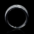 1.56ct Leo Pizzo Diamond 18k White Gold Ring