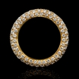 2.25ct Diamond 18k Pink Gold Eternity Ring