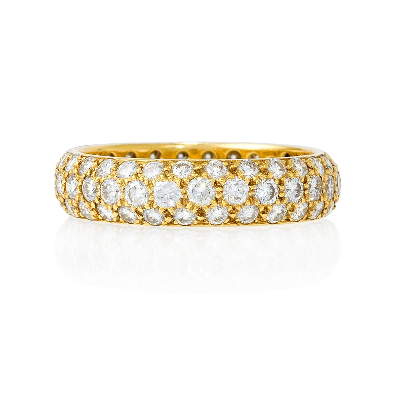 highkarat yellow bulgari products bands diamond l gold band monologo ring