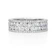 2.77ct Diamond 18k White Gold Eternity Wedding Band Ring