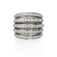 1.88ct Garavelli Diamond 18k White Gold Ring