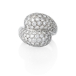 4.08ct Diamond 18k White Gold Ring