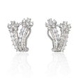 2.10ct Diamond 18k White Gold Earrings