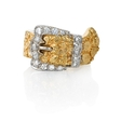 .48ct Diamond 14k Two Tone Gold Ring