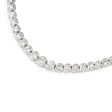 17.11ct Diamond 18k White Gold Graduated Tennis Necklace