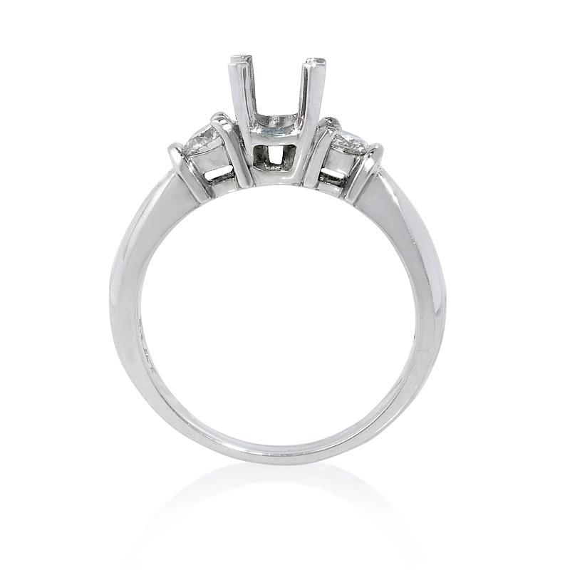 39ct Diamond Platinum Engagement Ring Setting