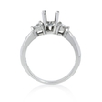 .39ct Diamond Platinum Engagement Ring Setting