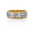 .23ct Diamond Platinum and 18k Yellow Gold Ring