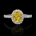 GIA Certified Diamond Platinum Engagement Ring