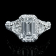 3.28ct GIA Certified Diamond Platinum Engagement Ring