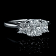 1.75ct GIA Certified Diamond Platinum Engagement Ring