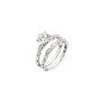 .27ct Simon G Diamond Antique Style Platinum Wedding Band Ring