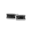 2.00ct Men's Diamond 14k White Gold Cuff Links
